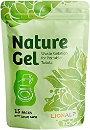 Nature Gel for Portable Emergency Toilet   Eco-Friendly Urine Absorbent Gelatin For Outdoors & Foldable Po