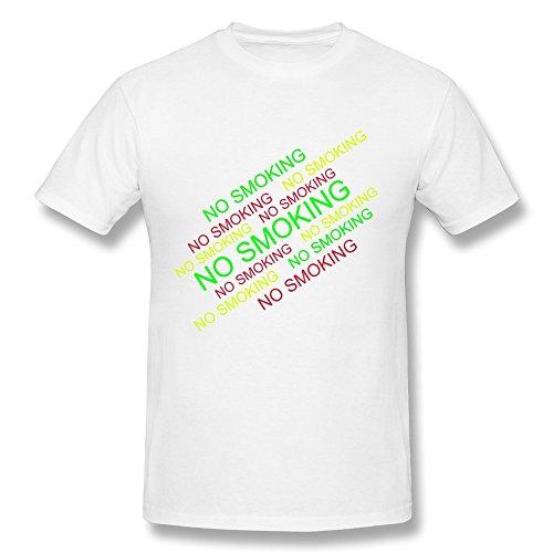 SNOWANG Men's No Smoking T-shirt 3X