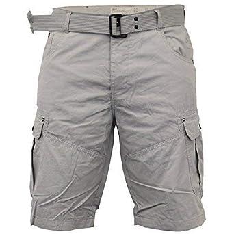 Homme crosshatch camouflage short cargo combat ceinture longueur genou jeans militaire