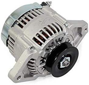 Race Chevy BLACK 90 AMP Mini Alternator GM Denso Style V Belt 1 Wire Street