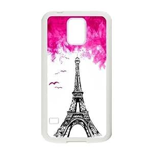 Nymeria 19 Customized Eiffel Tower In Paris Diy Design For Samsung Galaxy S5 Hard Back Cover Case DE-109