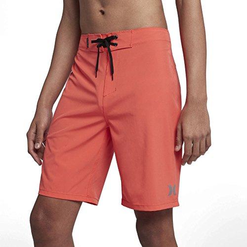 1 Phantom Fabric Shorts - Hurley 890791 Men's Phantom One & Only Board Short, Rush Coral - 28