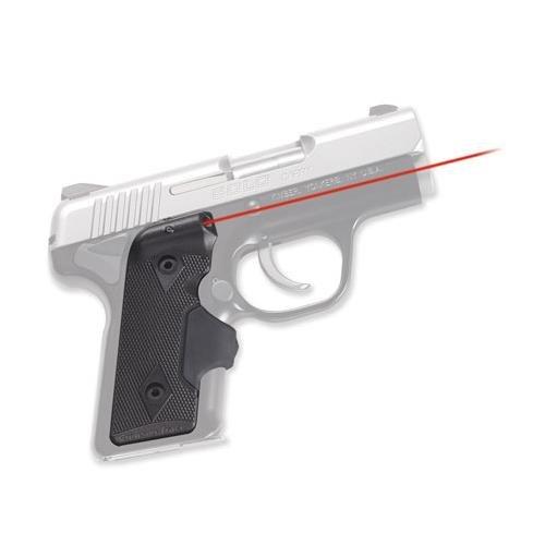 (Crimson Trace LG-408 Semi-Automatic Pistol Laser Attachment, Black Matte Finish)