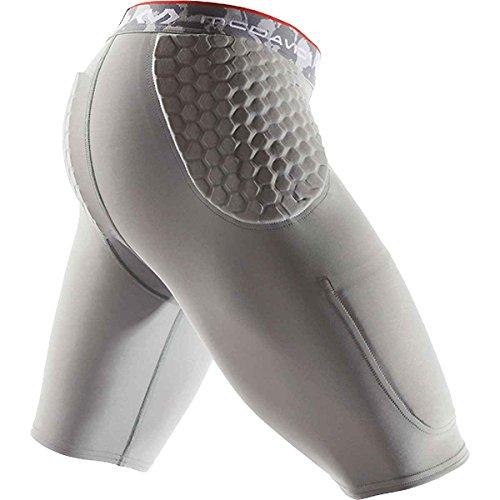 McDavid 2 Pocket Hex Girdle, Gray, Large