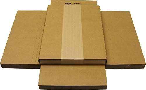Cardboard Magazine/Comic Boxes - 1' Variable Depth - MABC01VD (10)