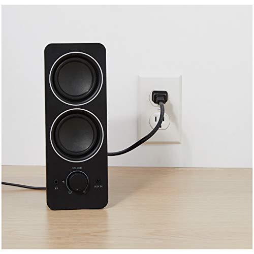 Amazon Basics AC Powered PC Multimedia External Speakers