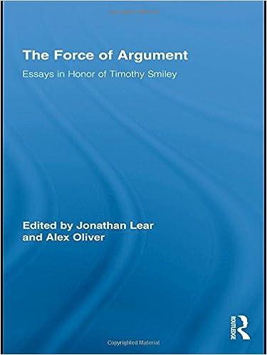 Philosophy argumentative essay?