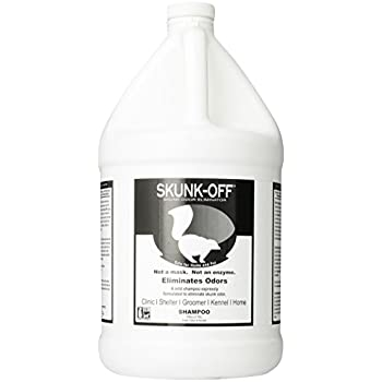 Amazon.com : Skunk-Off Pet Shampoo, 8-Ounce : Dog Skunk