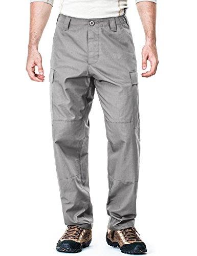 Six Pocket Bdu Pants (CQ-UBP01-STN_M/Regular CQR Men's ACU / BDU Rip Stop Trouser EDC Tactical Combat Pants UBP01)