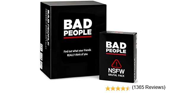 BAD PEOPLE Conjunto Completo (El Juego de Fiesta Que Probablemente ...