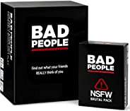 BAD PEOPLE - The Savage Party Game You Probably Shouldn't Play + The NSFW Brutal Expansion