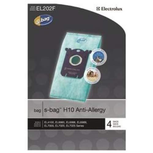 Genuine Electrolux Anti-Allergy s-bag EL202F - 4 bags
