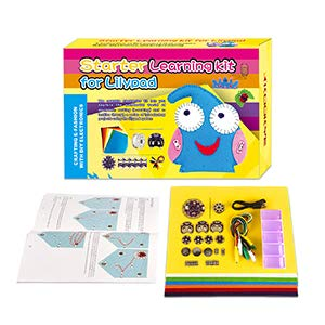 KOOKYE LilyPad USB 웨어 러 블 전자 직물 기술 개발 의상 디자인 기초 전자 키트 (기초 전자 장비) / KOOKYE LilyPad USB Wearable Electronic Fabric Technology Development Costume Design Basic Electronics Kit (Basic Electronics Kit)
