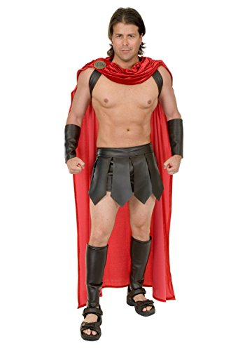 Mens Flashdance Costume (Spartan Warrior Adult Cape)