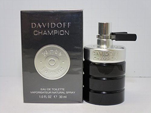 Davidoff Champion Eau De Toilette Spray for Men, 1 Ounce
