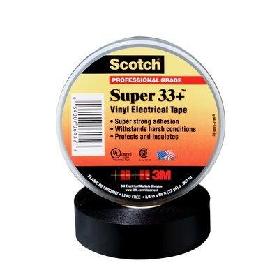 Scotch Super 33+(TM) Vinyl Electrical Tape, 3/4 in x 36 yds