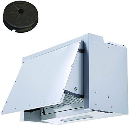 Campana extractora Sia INT60SI integrada con ventilador y filtro de carbón: Amazon.es: Grandes electrodomésticos