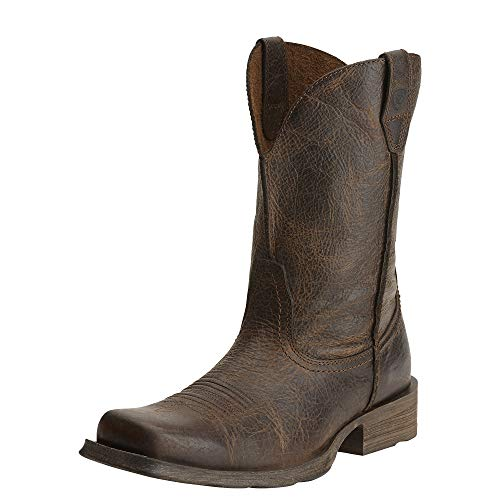 Ariat Men's Rambler Wide Square Toe Western Cowboy Boot, Wicker, 8.5 M US