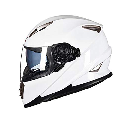 Locomotive Nose Low (GXT Motorcycle Full Face Helmet Double Lens Anti-Fog Four Seasons Locomotive Helmet Full Cover Men and Women Helmet)