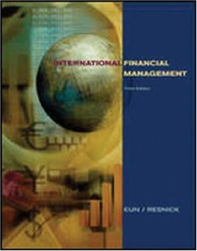 International Financial Management (The Mcgraw-Hill/Irwin Series in Finance, Insurance, and Real Estate) Pdf