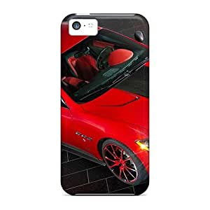 High Impact Dirt/shock Proof Case Cover For Iphone 5c (mansory Maserati Gran Turismo)