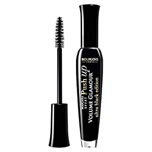 Bourjois – Mascara Volume glamour Effet Push Up – Volume X11 – Brosse Fibres Ultra Volumatrice – 31 Ultra Black 7ml