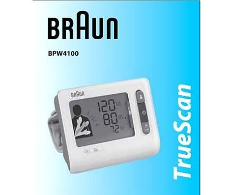 Braun TrueScan BPW4100, AAA - Tensiómetro: Amazon.es: Salud y cuidado personal