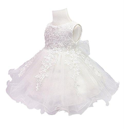 ivory christening dress - 5