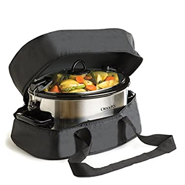 Thermal Slow Cooker Travel Bag For The  Crock Pot  6 and 7 Quart  Oval Slow Cooker