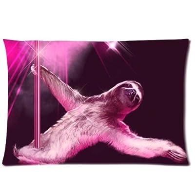 Nymeria 19 Sloth Astronaut Rectangle Pillowcase Pillow Case Covers 20X30 (One Side) Ga-409 - Nymeria 19-Pillowcase For 20X30
