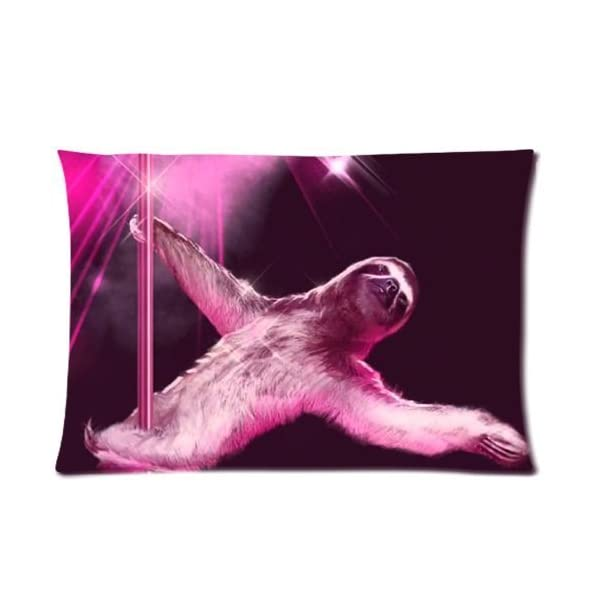 Nymeria 19 Sloth Astronaut Rectangle Pillowcase Pillow Case Covers 20X30 (One Side) Ga-409 -