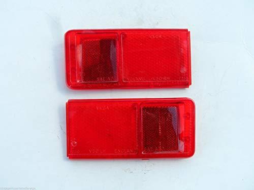 (EPC Austin Marina NOS Factory Original Tail Light Lenses (Qty 2) 24G6364 & 24G3665 )