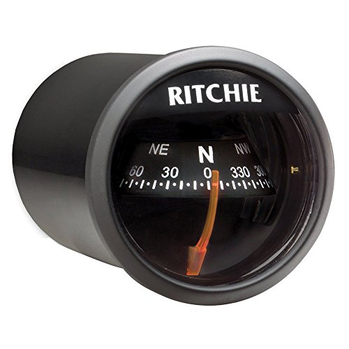 Ritchie Sport Dash Mount Compass, Black/Black ()