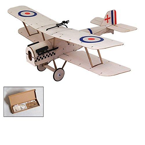 Micro Indoor & Park Fly RC Aeroplane,K0401 SE5A Balsa wood