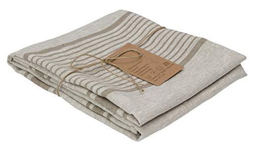 Pure Flax Linen Bath Towel 27''x55'' , Stonewashed , Natural Grey Color         - Pure Linen