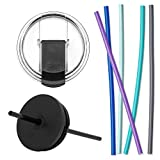 Kitchen & Housewares : Simple Modern Classic Tumbler Accessory Bundle - Includes Clear Flip Lid, Straw Lid, and 4 Silicone Straws