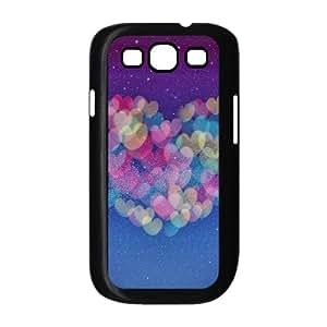 Samsung Galaxy S 3 Case, Love Heart Milky Way Case for Samsung Galaxy S 3 black lms317589540