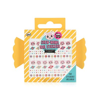 NPW Pups to Go Chew-Wawa Nail Stickers, 140-Count -
