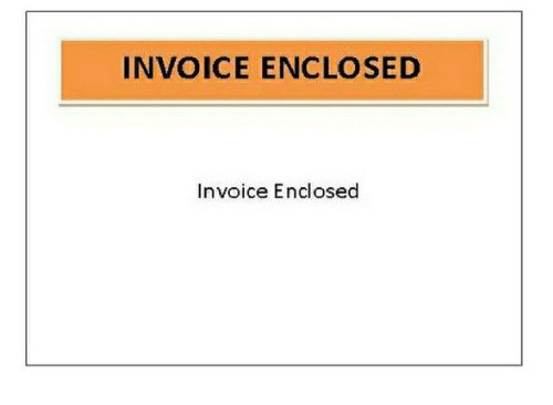 Invoice Enclosed Packing List Envelopes Panel Face Back Load 2.0 Mil Thick 4.5 X 5.5 1000 //Case