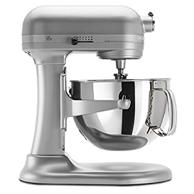 KitchenAid KP26M1XNP Professional 600 Series 6-Quart Stand Mixer - Nickel Pearl