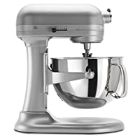 KitchenAid KP26M1XNP 6 Qt. Professional 600 Series Bowl-Lift Stand Mixer - Nickel Pearl