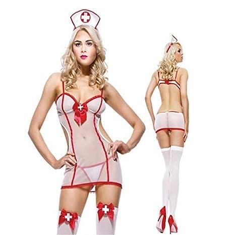 Tree-on-Life Porno lencería Sexy Enfermera Uniforme Traje ...