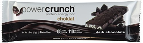 BioNutritional Research Group Choklat Crunch Protein Crisp Bars Dark Chocolate - 1.5 oz (43 g) bars - 12 count.(GLUTEN FREE) by Bio Nutritional