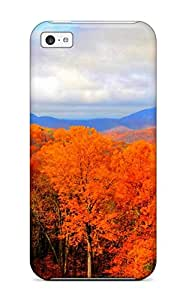 Top Quality Protection Scenic Earth Nature Scenic Case Cover For Iphone 5c