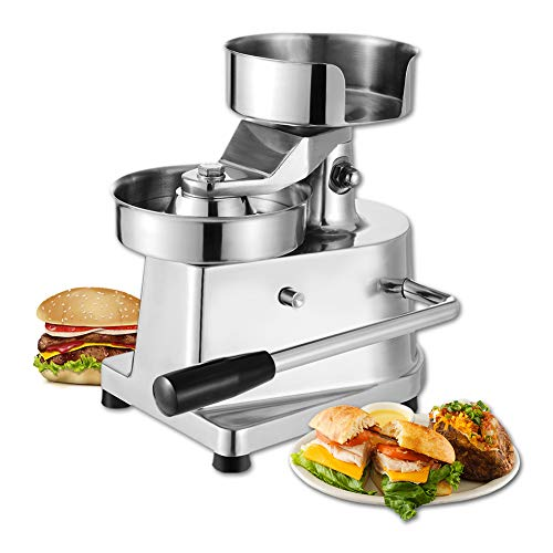 Hamburger Patty Maker,Commercial Hamburger Press Patty Maker Machine Garden BBQ Tools Sandwich Makers Panini Presses for Grilling Meat Seafood Vegetarian Patties by GOLDEN ELEPHANT (Image #9)