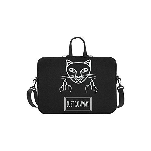 565fe51945c8 InterestPrint Cool Animal Cat Laptop Sleeve Case Bag, Funny Quote ...
