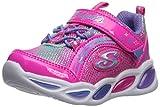 Skechers Kids Girls' Shimmer Beams Sneaker, neon