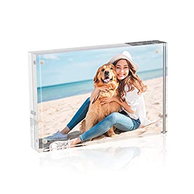 TWING Premium Acrylic Photo Frame Magnet Photo Frame 5PACK