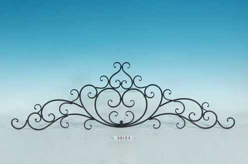 Decorative Wrought Iron Metal Wall - Wall Collectible Plaque
