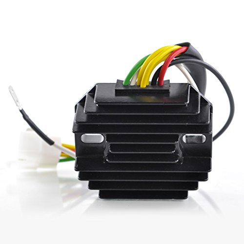 (Voltage Regulator Rectifier For Honda CB350F / CB400F / CB500 / CB550F Super Sport / CB550K / CB750K / CB750 Four 1971-1978 OEM Repl.# 31700-300-035 31700-323-015 31700-341-015 31700-333-008)
